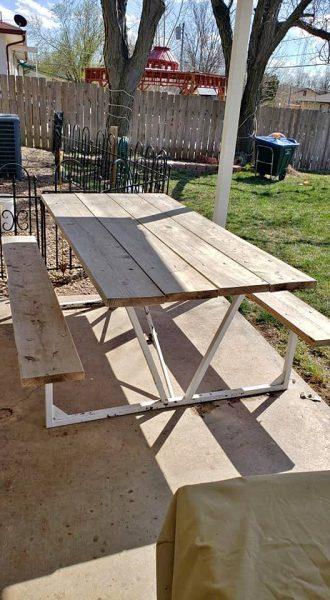 Picnic Garden table Outdoor
