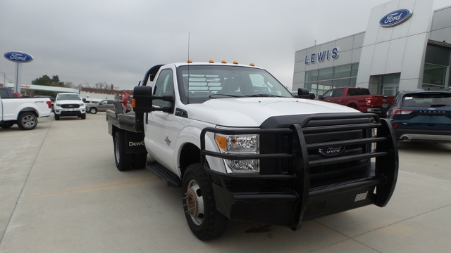 2016 Ford F-350 DEWEZE BALE BED 4×4