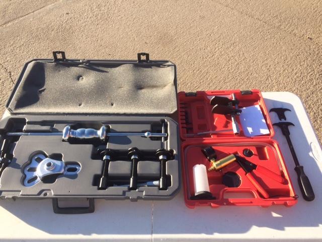OTC Rear Axle puller set and brake tools