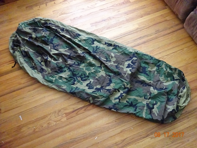 US Military Issue Gore-Tex Bivy Cover