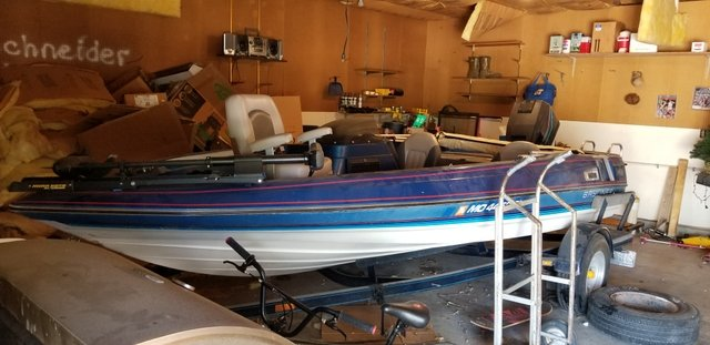 Ski and fish boat MAKE ME AN OFFER