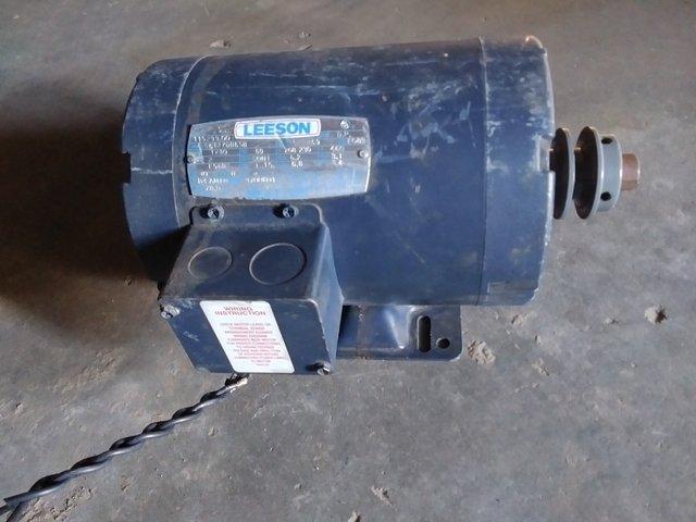 2 hp Leeson Electric Motor